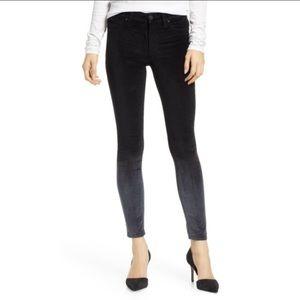 Hudson Nico super skinny ankle velvet jeans